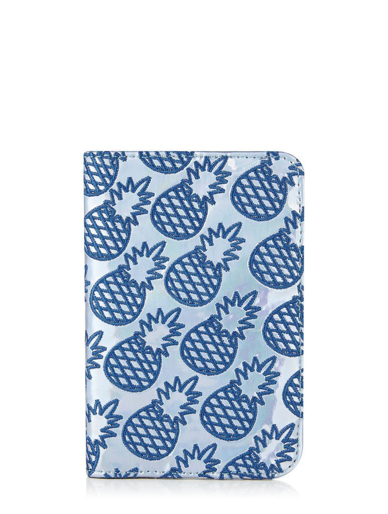 Pineapple Passport Holder