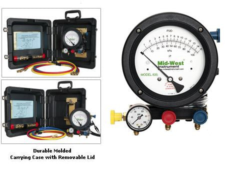 Mid-West 835 Backflow Test Kit