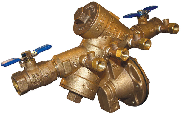 "WILKINS 1 1/4"" 975XL RP BACKFLOW ASSEMBLY, FOR NON POTABLE USE 114-975XL"