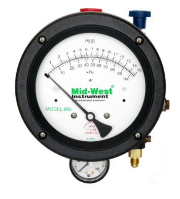 Mid-West 845-2 Valve Test Kit