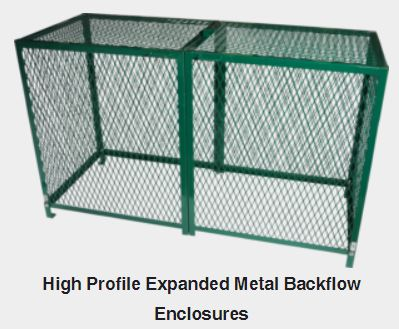 Strong Box BC Series Expanded Metal Backflow Cage