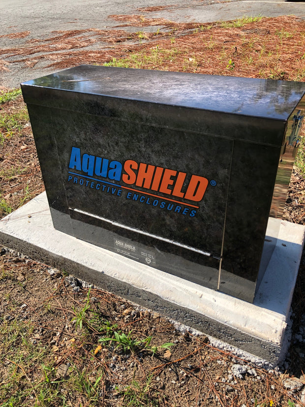 AquaShield Aluminum Backflow Enclosure