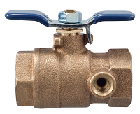 "Febco Tapped Ball Valve 1"" 781054LL"