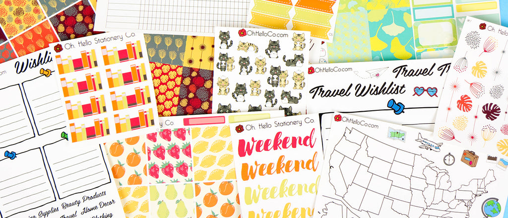 Oh, Hello Co  Planners and Supplies – Oh, Hello Stationery Co