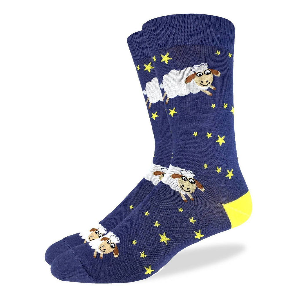 Men's Counting Sheep Socks - Shoe Size 7-12