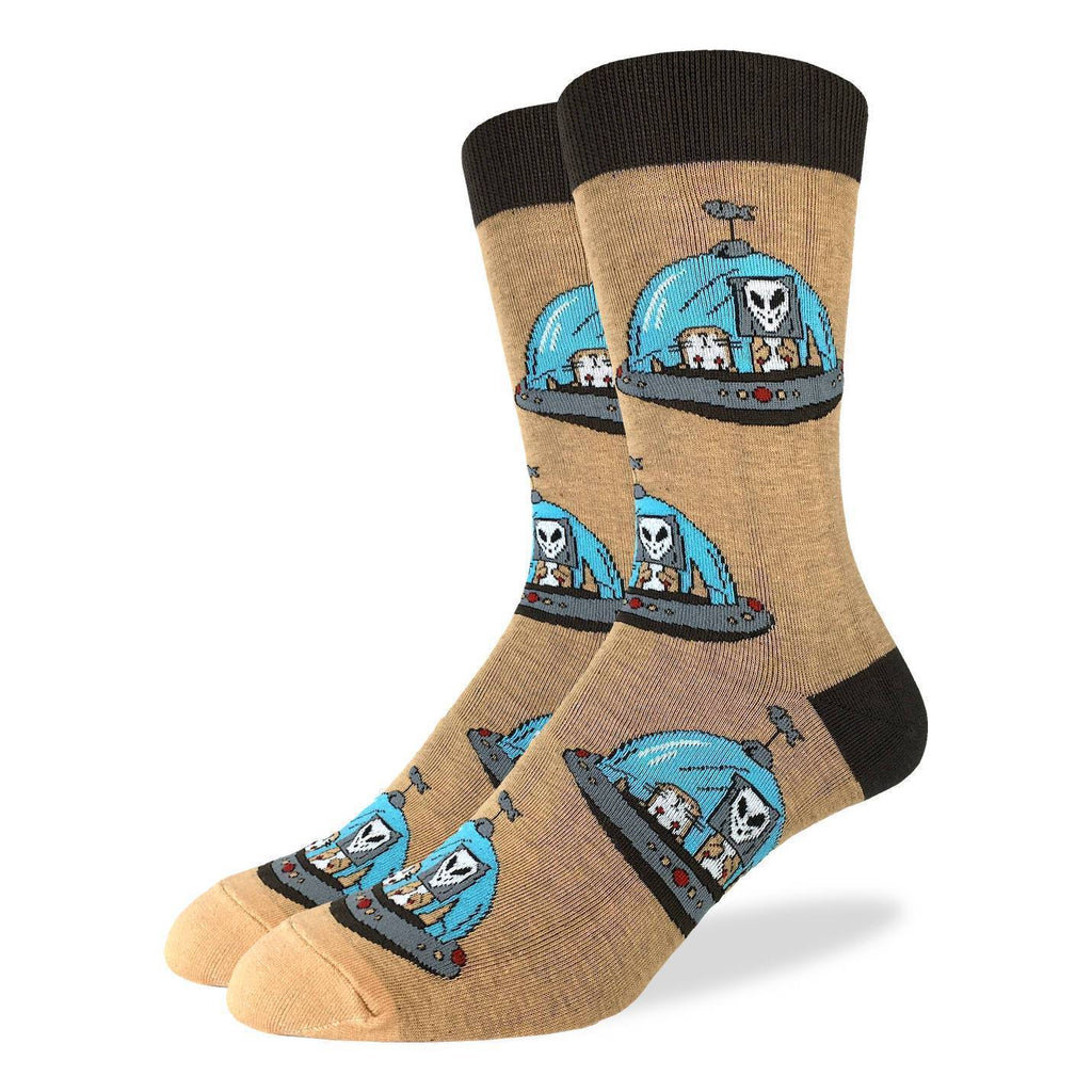 Men's Alien Otters Socks - Shoe Size 7-12