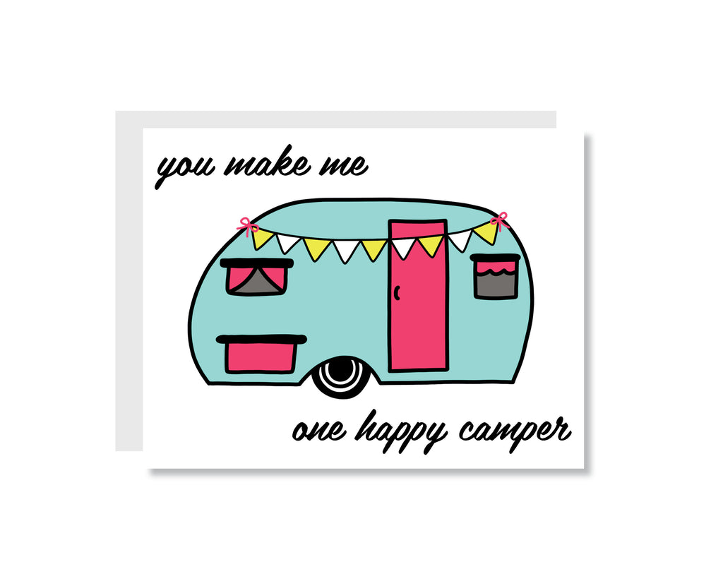 One Happy Camper Greeting Card - CARD139