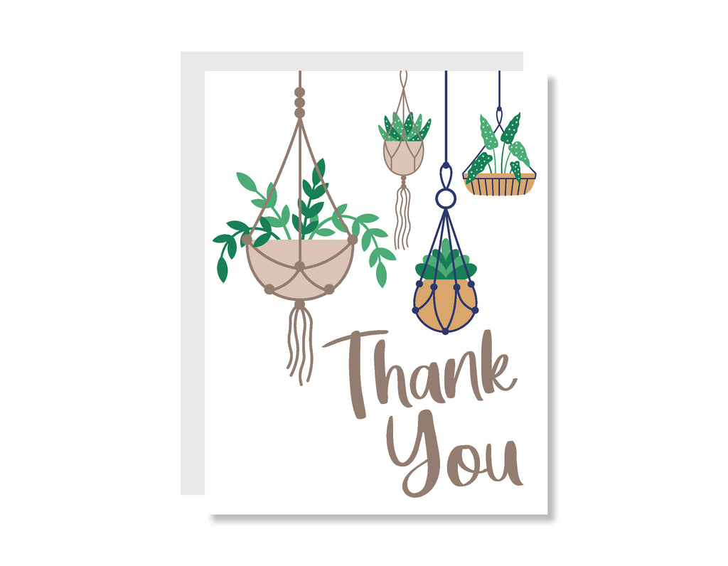 Thank You Plants Greeting Card - CARD199