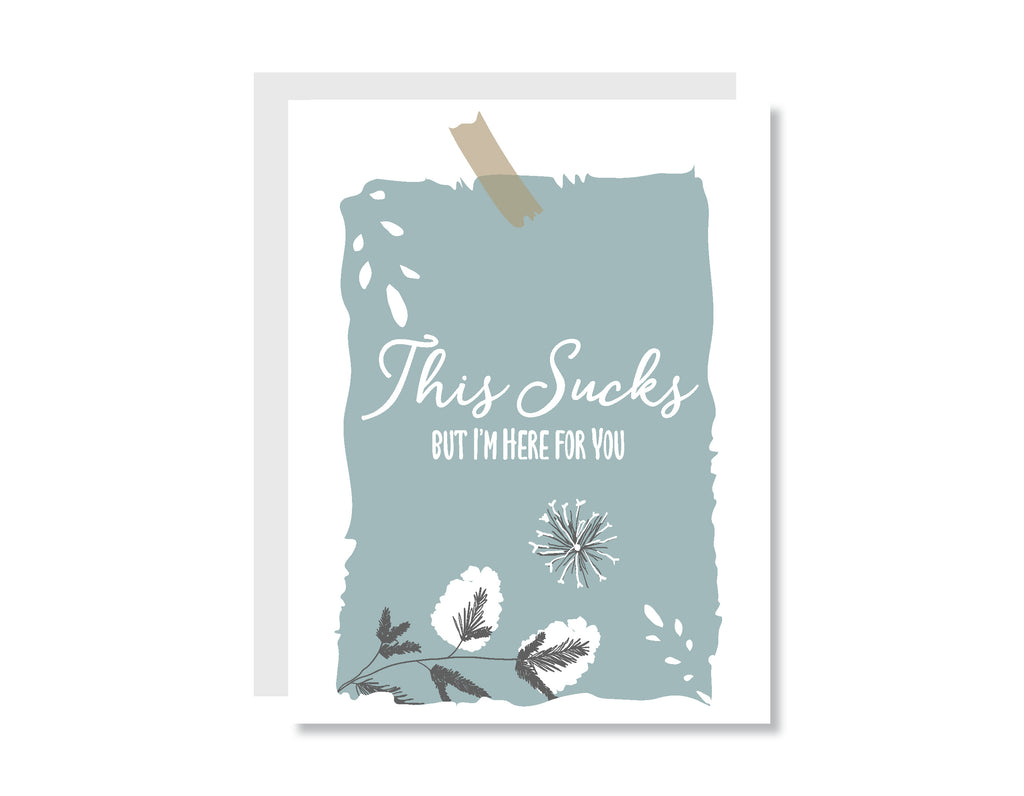 This Sucks Greeting Card - CARD214