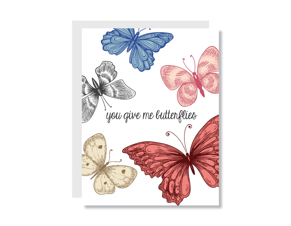 Butterflies Greeting Card - CARD230