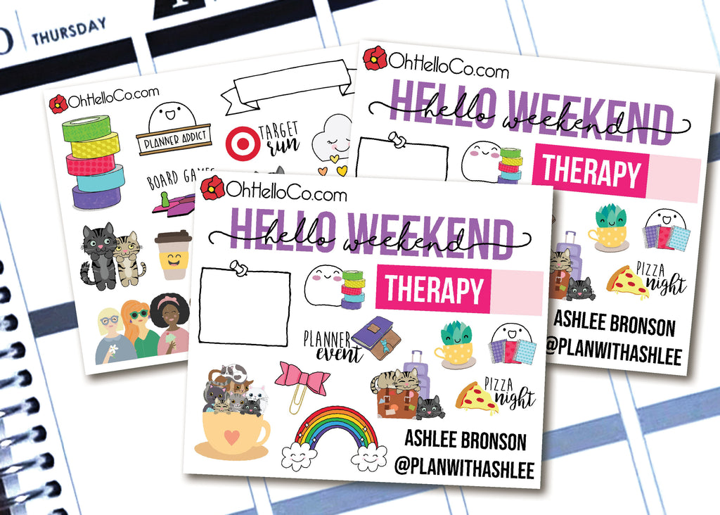 Planner Meetup Contact Cards - Custom