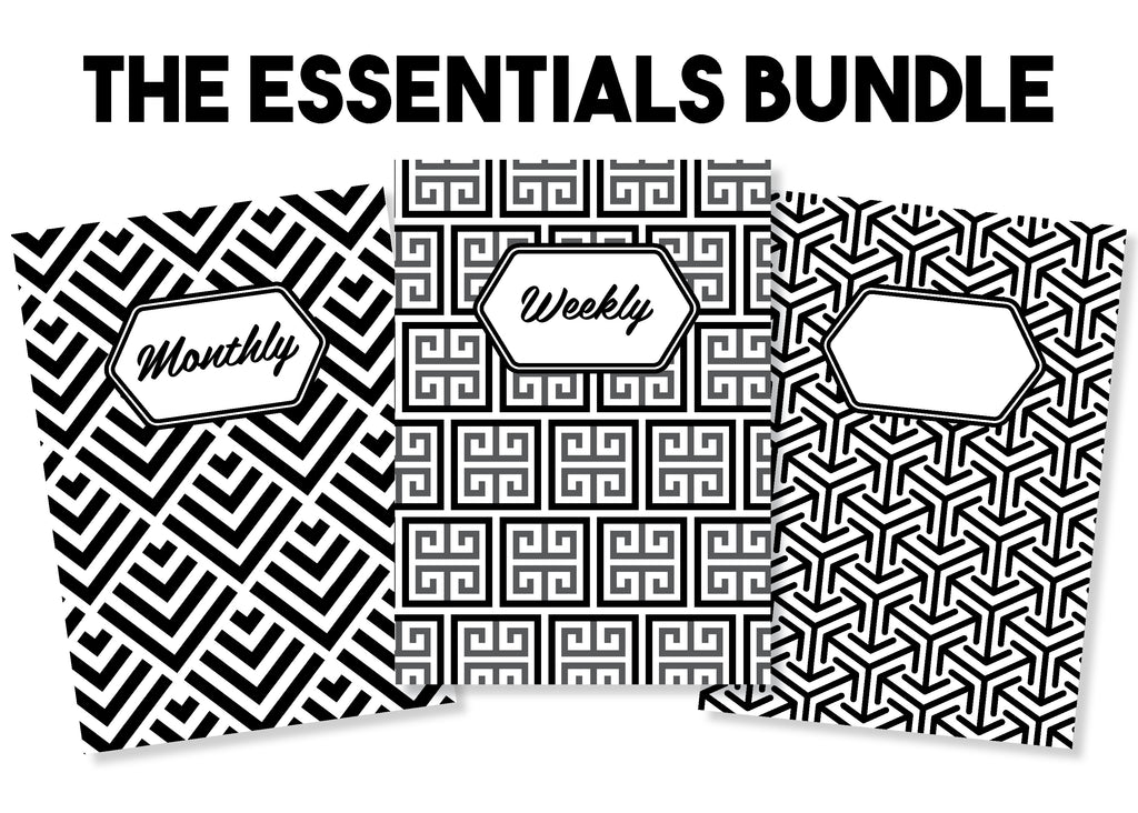 The Essentials Bundle - Traveler's Notebook Inserts
