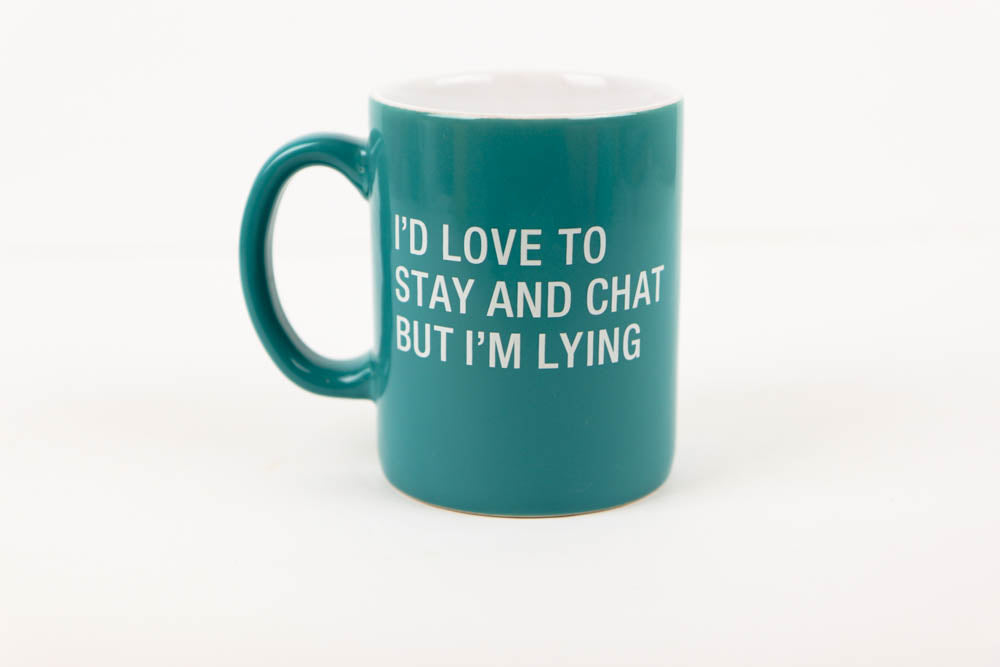 Stay and Chat Mug