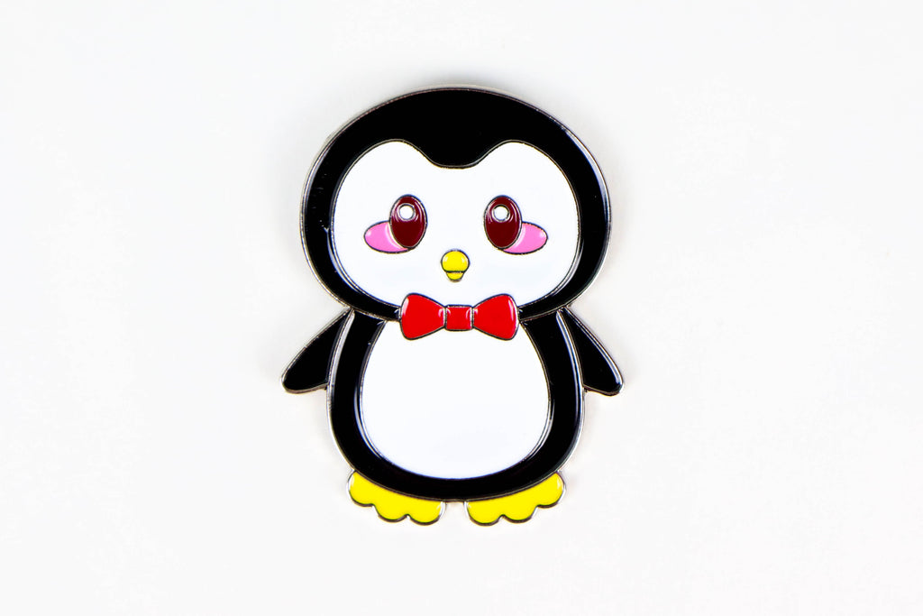 Penguin Enamel Pin - Oh, Hello Stationery Co. bullet journal Erin Condren stickers scrapbook planner case customized gifts mugs Travlers Notebook unique fun