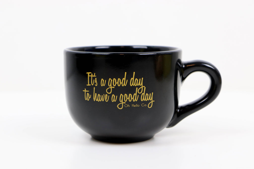 It's a Good Day Soup Coffee Mug - Oh, Hello Stationery Co. bullet journal Erin Condren stickers scrapbook planner case customized gifts mugs Travlers Notebook unique fun