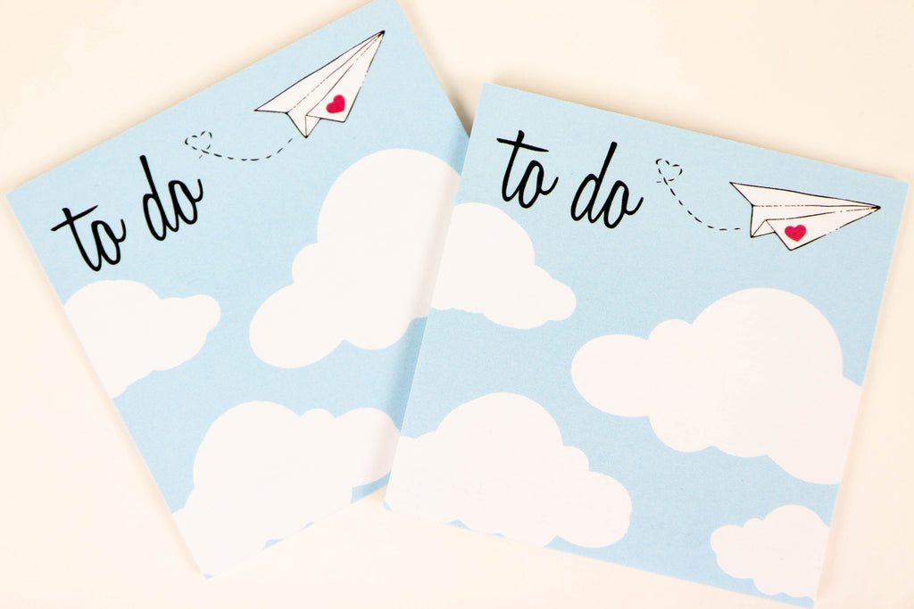 To Do Cloud Sticky Notes - Oh, Hello Stationery Co. bullet journal Erin Condren stickers scrapbook planner case customized gifts mugs Travlers Notebook unique fun