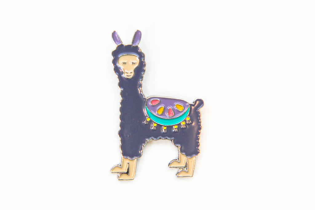 Llama Enamel Pin - Oh, Hello Stationery Co. bullet journal Erin Condren stickers scrapbook planner case customized gifts mugs Travlers Notebook unique fun