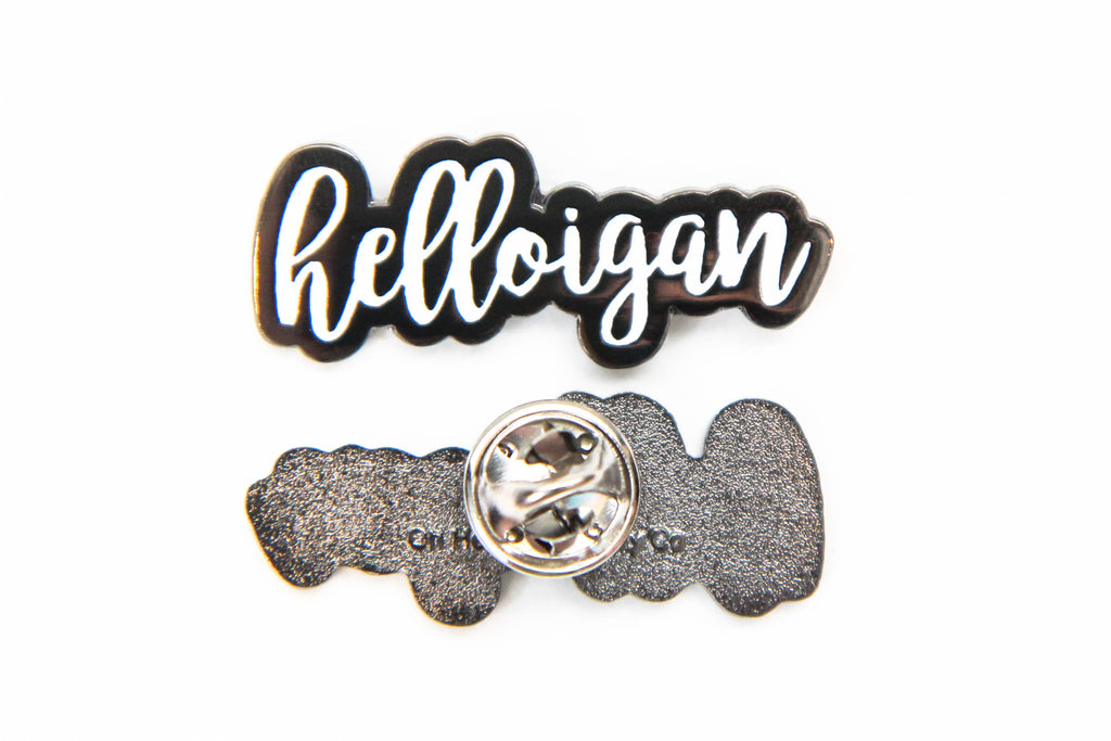 Helloigan Enamel Pin - Oh, Hello Stationery Co. bullet journal Erin Condren stickers scrapbook planner case customized gifts mugs Travlers Notebook unique fun