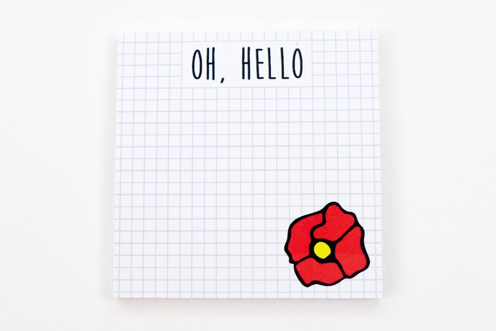 Oh, Hello Sticky Notes - Oh, Hello Stationery Co. bullet journal Erin Condren stickers scrapbook planner case customized gifts mugs Travlers Notebook unique fun