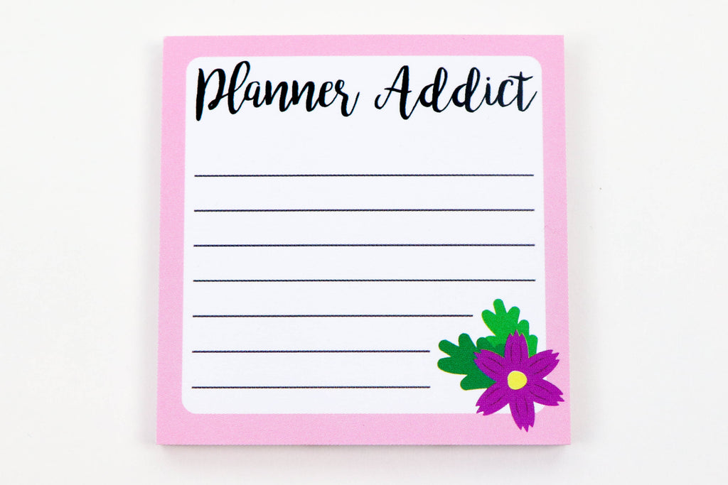 Planner Addict Sticky Notes