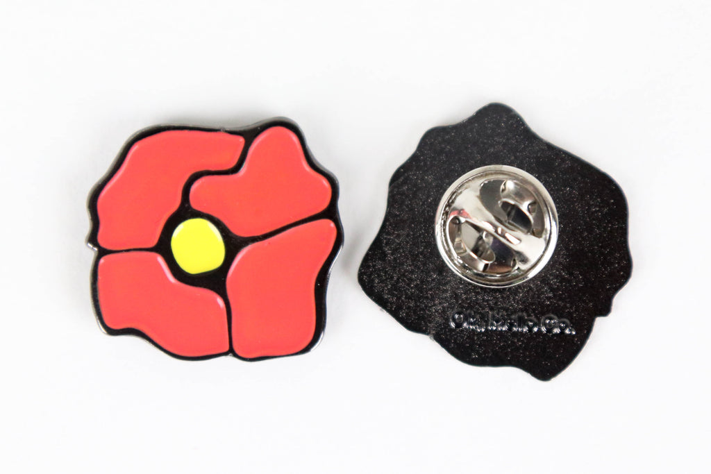 Poppy Enamel Pin