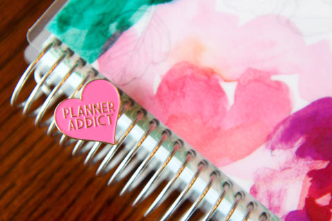 Planner Addict Enamel Pin - Oh, Hello Stationery Co.