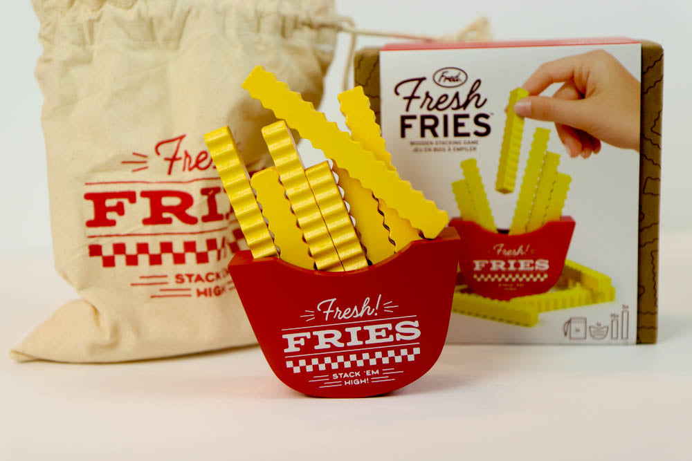 Fries Stacking Game - Oh, Hello Stationery Co. bullet journal Erin Condren stickers scrapbook planner case customized gifts mugs Travlers Notebook unique fun