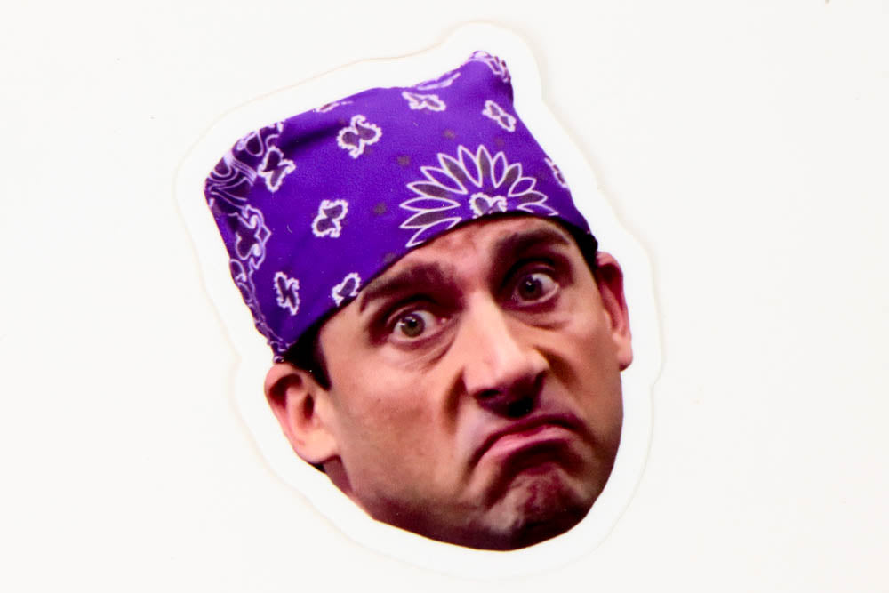 The Office Prison Mike Die Cut Sticker - The Bill TV - Oh, Hello Stationery Co. bullet journal Erin Condren stickers scrapbook planner case customized gifts mugs Travlers Notebook unique fun