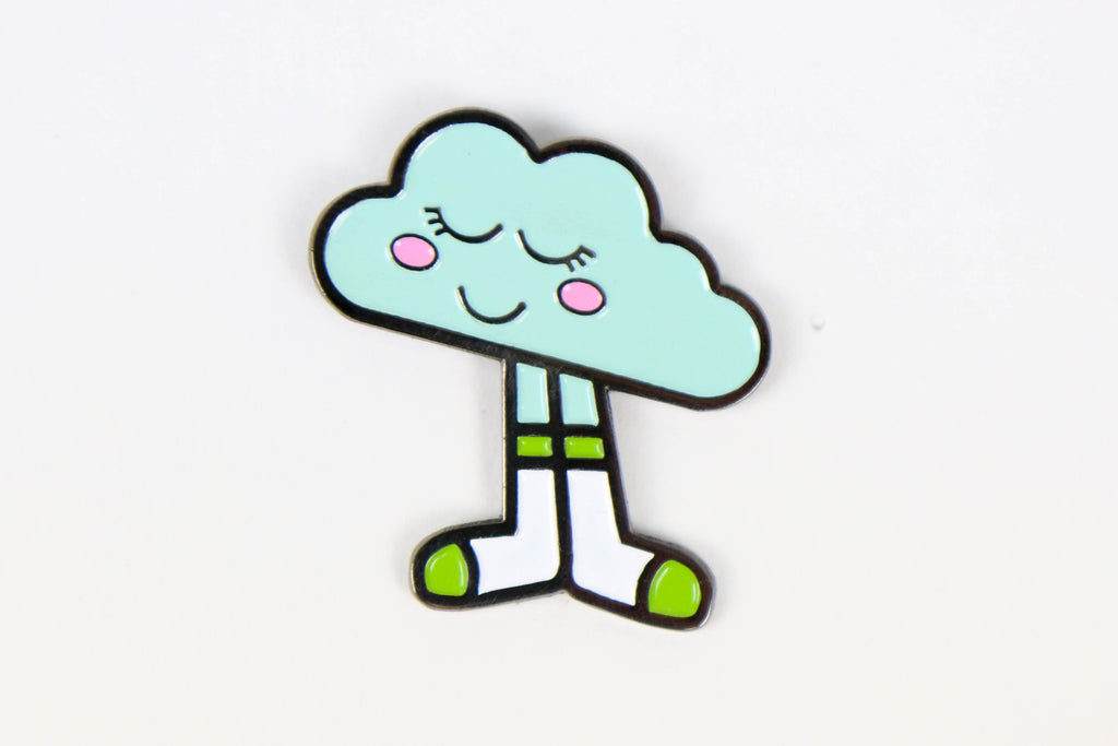 Head in the Clouds Enamel Pin - Oh, Hello Stationery Co. bullet journal Erin Condren stickers scrapbook planner case customized gifts mugs Travlers Notebook unique fun