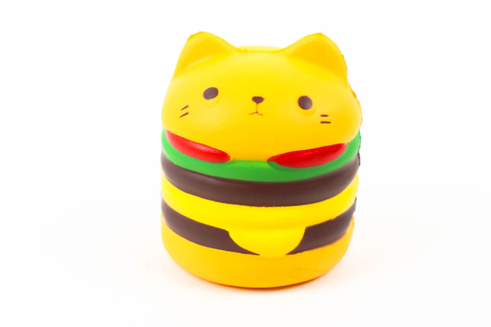 Large Squishy - Cat Burger