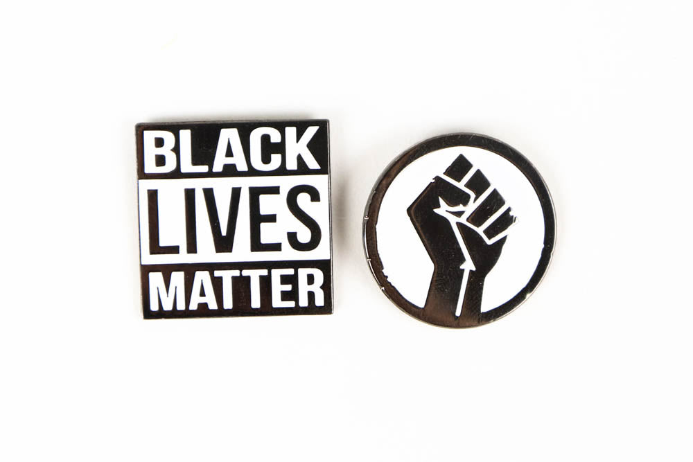 Black Lives Matter Enamel Pin Bundle