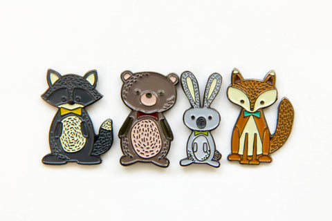 Autumn Critter Enamel Pins - Oh, Hello Stationery Co.   - 7
