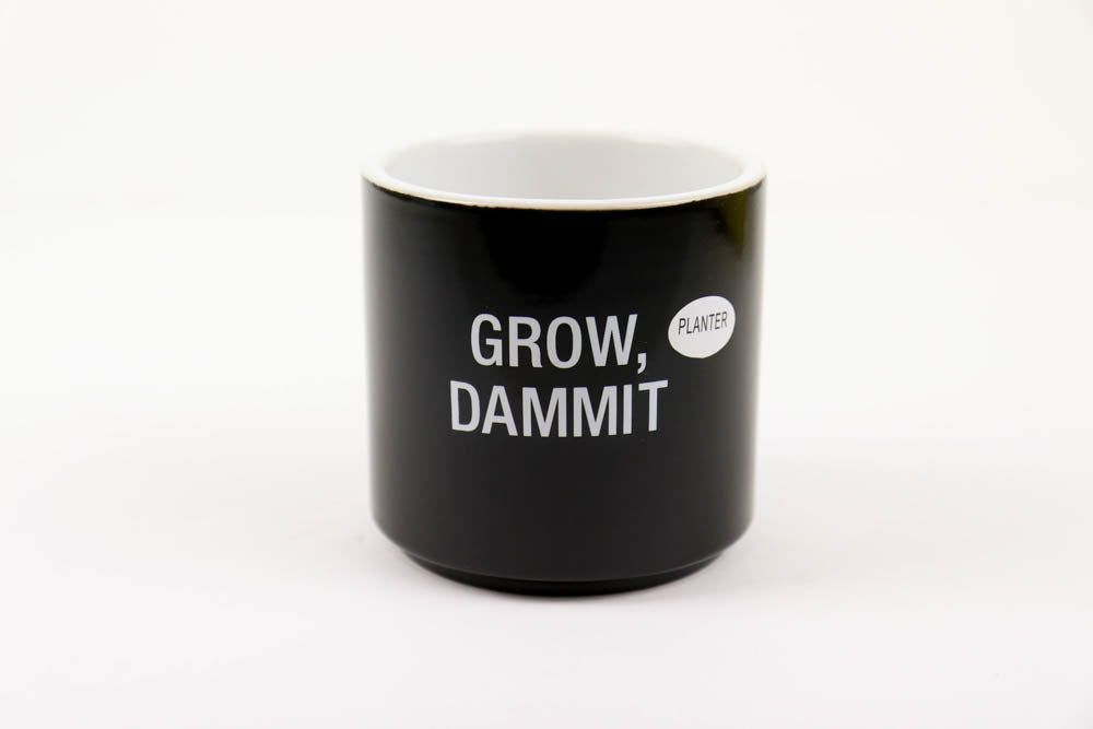 Grow Dammit Planter