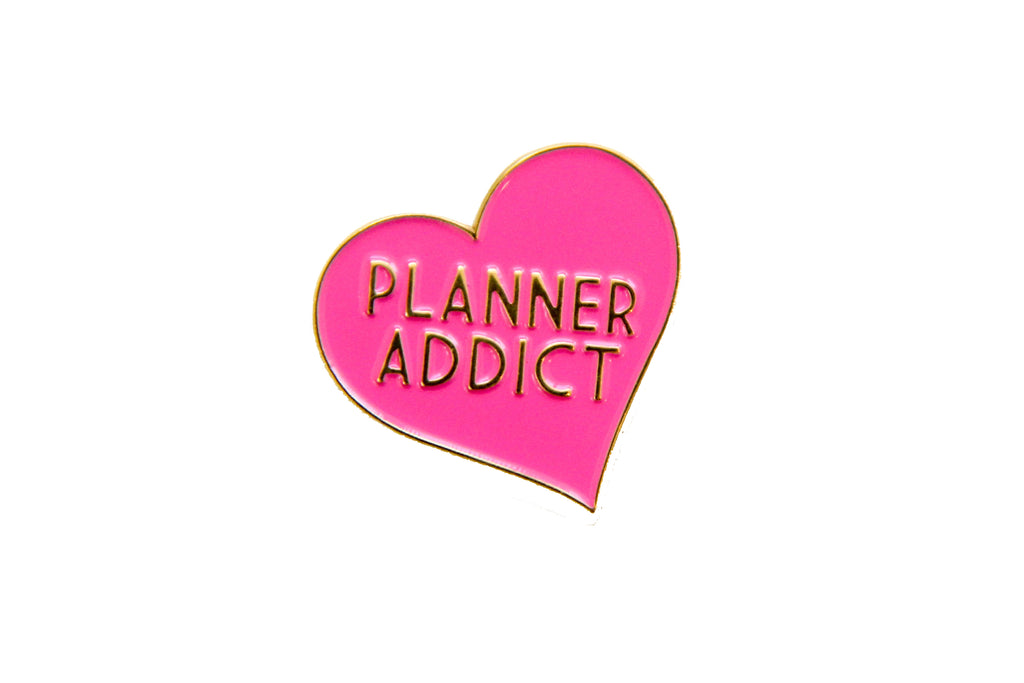 Planner Addict Enamel Pin