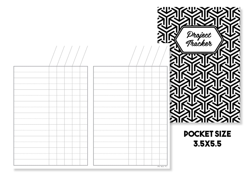 Project Tracker Traveler's Notebook Insert