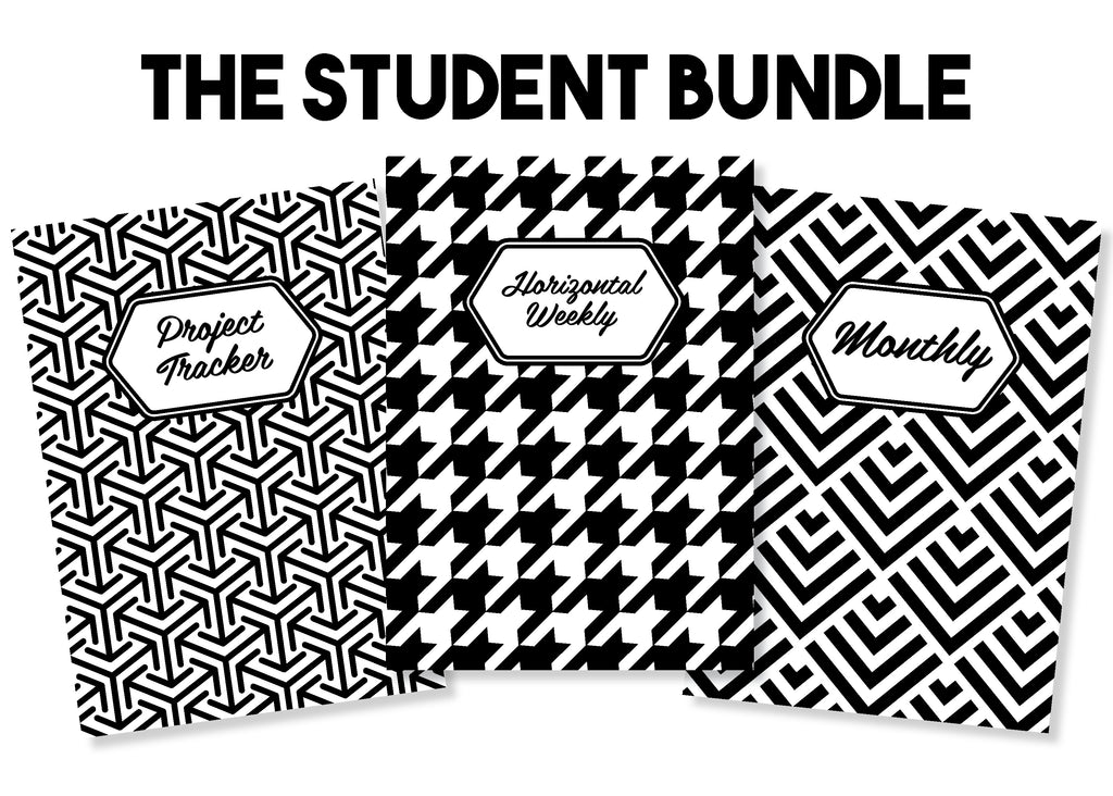 The Student Bundle - Traveler's Notebook Inserts