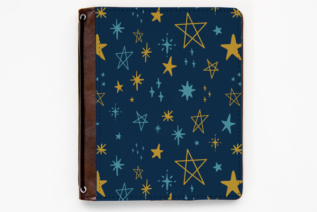 Customizable Traveler's Notebook Cover - Shoot for the Stars - Oh, Hello Stationery Co. bullet journal Erin Condren stickers scrapbook planner case customized gifts mugs Travlers Notebook unique fun