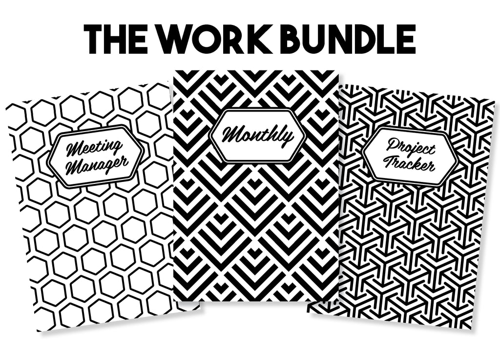 The Work Bundle - Traveler's Notebook Inserts