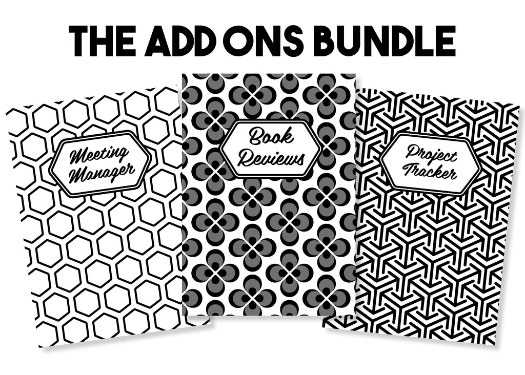 The Add On Bundle - Traveler's Notebook Inserts
