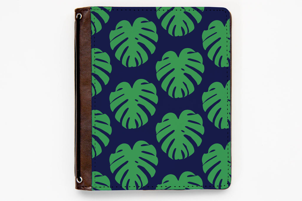 Customizable Traveler's Notebook Cover - Monstera - Oh, Hello Stationery Co. bullet journal Erin Condren stickers scrapbook planner case customized gifts mugs Travlers Notebook unique fun