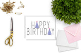 Happy Birthday Party Hats Greeting Card - Oh, Hello Stationery Co.   - 2