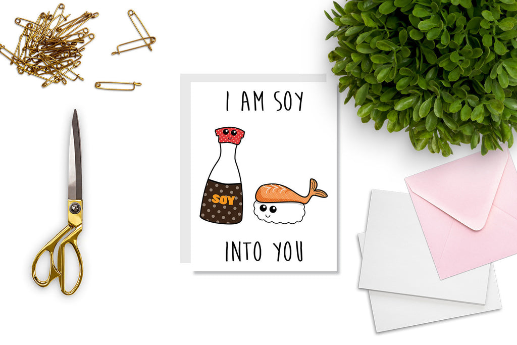 I'm Soy Into You Greeting - CARD21