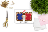 Let's Toast Greeting Card - Oh, Hello Stationery Co.   - 2