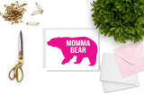 Momma Bear Greeting Card - CARD54
