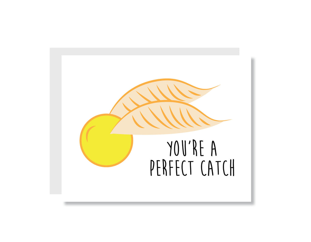 You're a Perfect Catch Greeting Card - Oh, Hello Stationery Co.   - 1