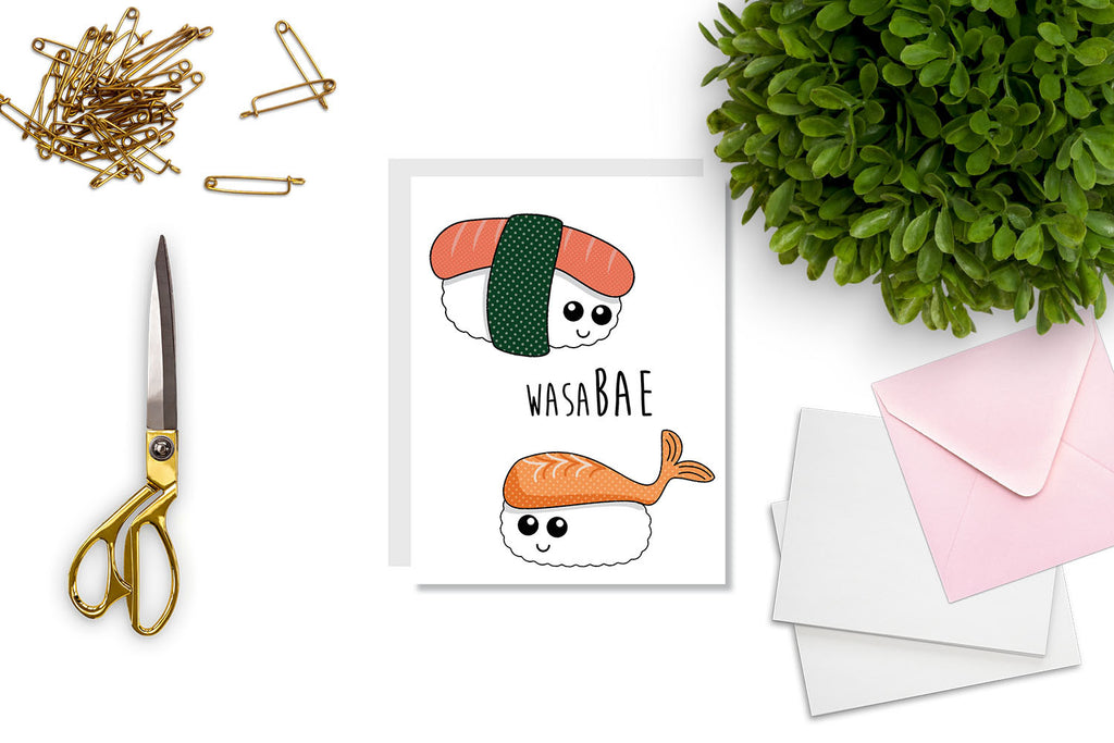 WasaBAE Greeting Card - Oh, Hello Stationery Co.   - 2