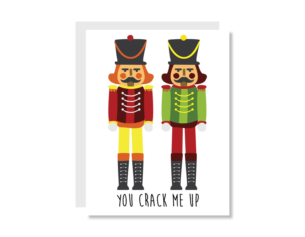 You Crack Me Up Greeting Card - CARD99