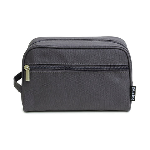 Canvas Travel Toiletry Bag Shaving Kit for Men