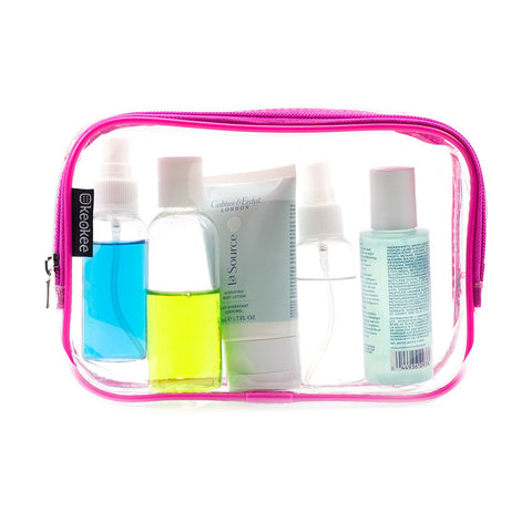 Clear Toiletry Bag Set - Keokee Travel Gear