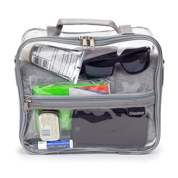 Clear Crossbody Bag - Keokee Travel Gear
